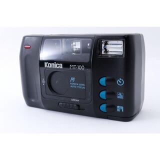 KONICA MINOLTA - 【動作品】KONICA MT-100 コニカ フィルムカメラ 即購入OK 電池付