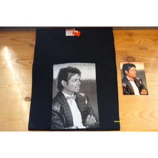 Supreme - 新品 Supreme 17SS マイケルジャクソン Tシャツ 黒 L