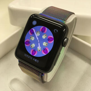 アップルウォッチ(Apple Watch)のApple Watch series2 42mm グレー アップルウォッチ(腕時計(デジタル))