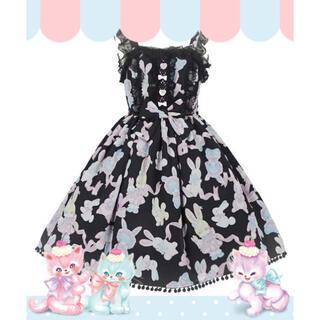 Angelic Pretty - angelic pretty Moco moco Bunnysジャンパースカート