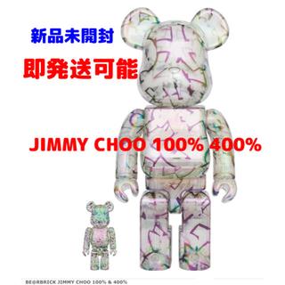 MEDICOM TOY - 新品未開封 BE@RBRICK JIMMY CHOO 100% 400%