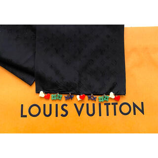 LOUIS VUITTON - ルイヴィトン レア物 エシャルプラッキーチャーム モノグラム スカーフ