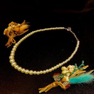 ジエダ(Jieda)のパールネックレス pearl necklace(ネックレス)