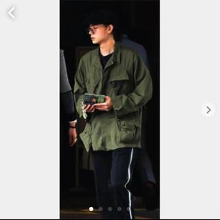 COMOLI - 菅田将暉 着 60s ビンテージ 米軍 US ARMY ジャングルファティーグ