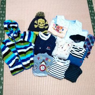ベビーギャップ(babyGAP)の【10/25まで!】男の子 秋冬 12点 まとめ売り 80(カバーオール)