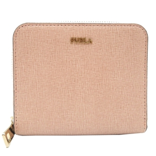 フルラ(Furla)のフルラ     レザー  ピンク   二つ折り財布(財布)