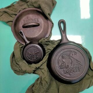 ロッジ(Lodge)のロッジ スキレット  6.5インチ 3.5インチ(調理器具)