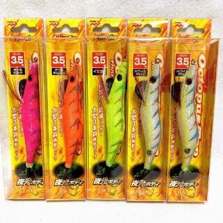 激安 タコエギ 5個セット マルシン漁具 オクトパスタップ 3.5号