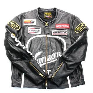 Supreme - Mサイズ Supreme Vanson Leather Star Jacket