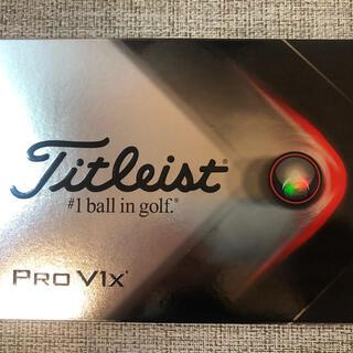 Titleist - ゴルフボール タイトリスト PRO V1x  2021モデル 1ダース