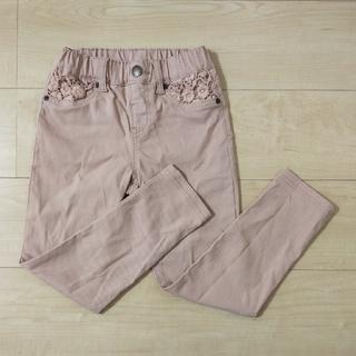 西松屋 - ツイル花ポケットロングパンツ♡120cm