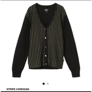 STUSSY - STUSSY Stripe Cardigan
