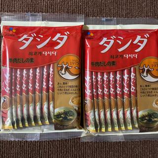 コストコ - ダシダ 쇠고기 다시다  8g 12本×2