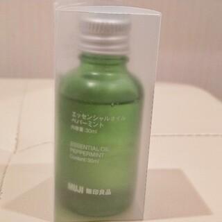 MUJI (無印良品) - 無印良品エッセンシャルオイル  ペパーミント30ml大きい方の瓶です