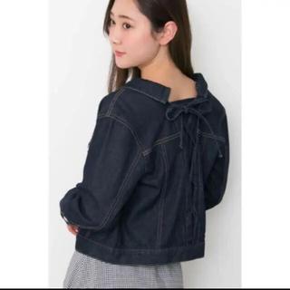 ジルバイジルスチュアート(JILL by JILLSTUART)のJILL BY JILLSTUART denim jacket(Gジャン/デニムジャケット)