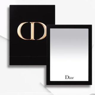 Christian Dior - Dior ミラー ブラック(ベロア素材)