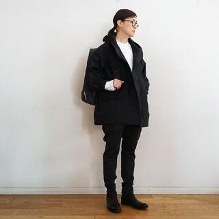 ムジルシリョウヒン(MUJI (無印良品))の◆新品◆  無印良品 撥水フードジャケット/黒/XS-S(ブルゾン)