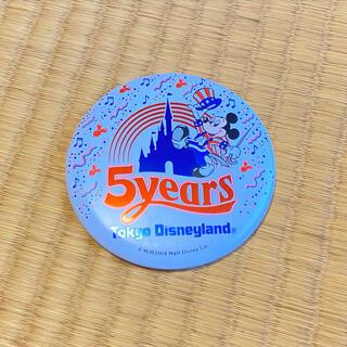 Disney - 東京ディズニーランド 5周年 缶バッジ