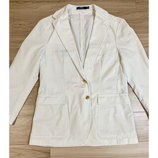ポロラルフローレン(POLO RALPH LAUREN)のPOLO RALPH LAUREN ホワイト ジャケット(テーラードジャケット)