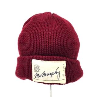 カシラ(CA4LA)のCA4LA(カシラ) WOOL Mc Marphy Cap ニットキャップ 帽子(ニット帽/ビーニー)