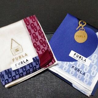 Furla - フルラ ハンカチ 2枚セット新品