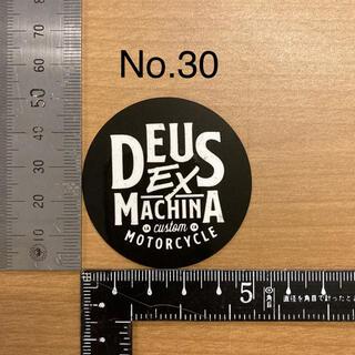デウス エクス マキナ Deus Ex Machina ステッカー 30(モトクロス用品)