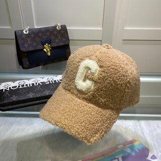 celine - 極上美品CELINE パイル野球帽
