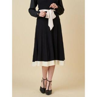 ロイヤルパーティー(ROYAL PARTY)の☆ROYAL PARTY☆裾配色フレアスカート(ひざ丈スカート)
