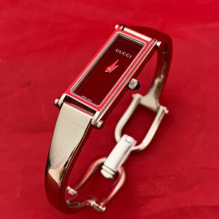 グッチ(Gucci)のGUCCI☆バングル腕時計☆1500L(腕時計)