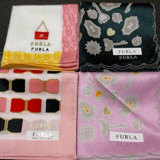Furla - フルラ 4枚セット 新品ハンカチ