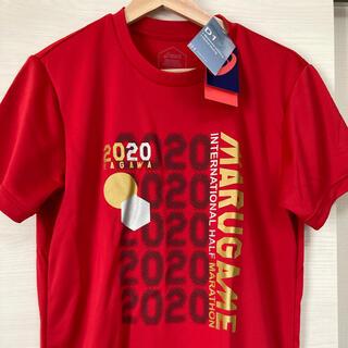 アシックス(asics)の新品asicsランニングシャツ丸亀ハーフマラソン(ウェア)