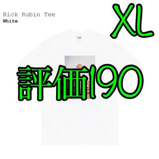 Supreme - Rick Rubin Tee XL 白 White
