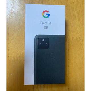 Google - Google  pixel 5a 5G 128GB  Mostly Black