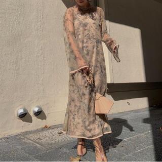 アメリヴィンテージ(Ameri VINTAGE)のMANY WAY BENNETT LAYERED DRESS (ひざ丈ワンピース)