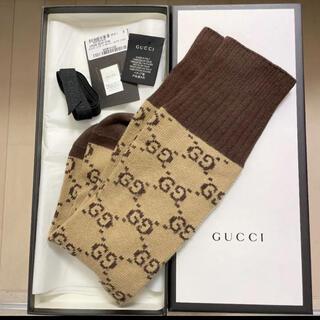 Gucci - GUCCI☆GGパターン コットンブレンド ソックス レディース