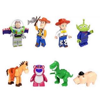 新品LEGOレゴ互換 トイストーリー3 ミニフィグ人形セット