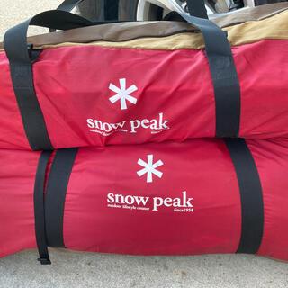 Snow Peak - 旧色)ランドロック+シールドルーフ・グランドシート