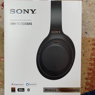 SONY - ソニーワイヤレスヘッドホン WH-1000XM4 ブラック