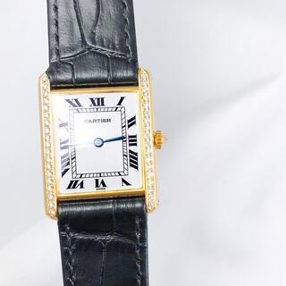 Cartier - 【仕上済】カルティエ タンク ルイ ローマン K18YG レディース 腕時計