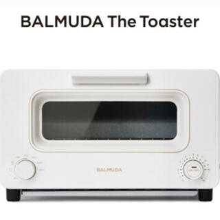 BALMUDA - バルミューダ トースター BALMUDA  スチームトースター K05A-WH