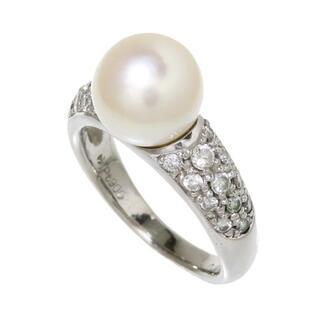 タサキ(TASAKI)のタサキ リング・指輪  Pt900 アコヤ真珠 約9.2mm程度(リング(指輪))