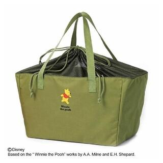 クマノプーサン(くまのプーさん)の新品くまのプーさんレジかごお買いものバッグ sweet 1月号付録 スウィート (エコバッグ)