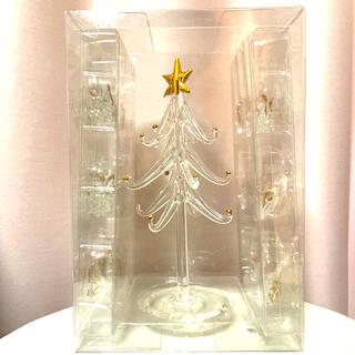 Francfranc - Francfranc ガラスオーナメント クリスマスツリー