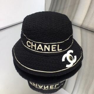 ★シャネル ★フィッシャーマンズハット黒 帽子
