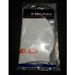 ヘッド(HEAD)のHEAD シリコンキャップ フリーサイズ 白(マリン/スイミング)