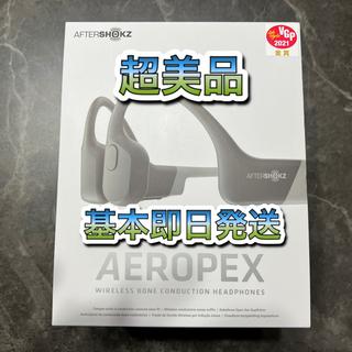 AfterShokz Aeropex 骨伝導ワイヤレスヘッドホン  ルナグレイ