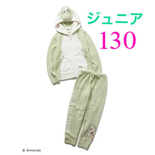 gelato pique - ジェラート ピケ マリオ ONLINE限定 ヨッシー パーカ&ロングパンツ