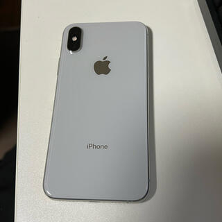 Apple - iPhoneXS シルバー256GB docomo
