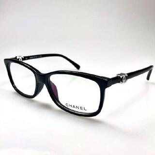 素敵?★シャネル ★眼鏡用フレーム テンプルココマーク付ブラック