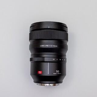 美品 lumix s pro 50mm f1.4 レンズ lマウント ライカ